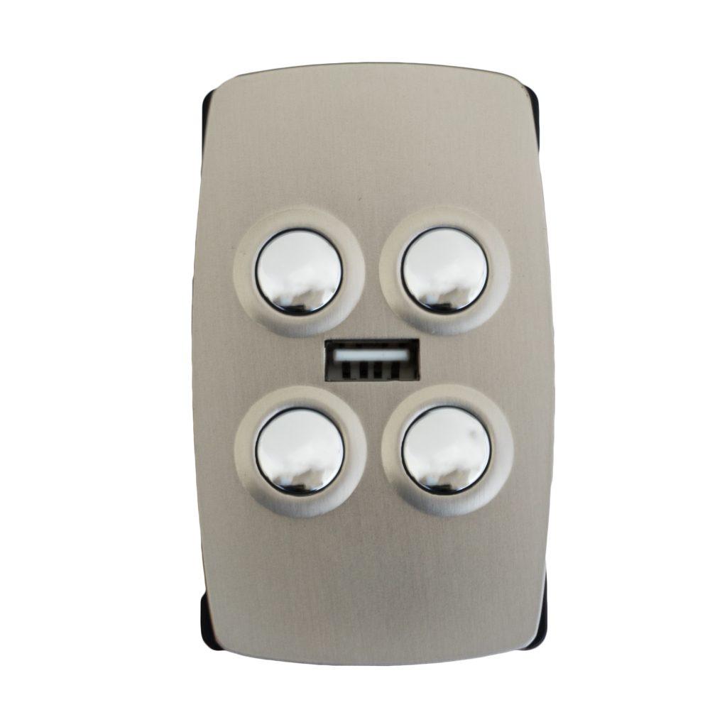 2-Mot Insert Switch Metal USB V3